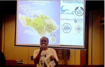 Bali tourism actors support water preservation