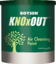 KNOxOUT Air Pollution Neautralizing and Sanitizing Architectural Coating